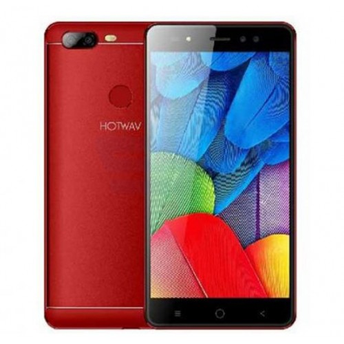 Hotwav Cosmos Pixel 4, 32GB Storage, 3GB RAM, With Fingerprint 4G, Red