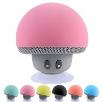 New Arrival Mini Bluetooth Mushroom Shape Loudspeaker Super Bass Stereo Subwoofer Music Player For IOS and Android
