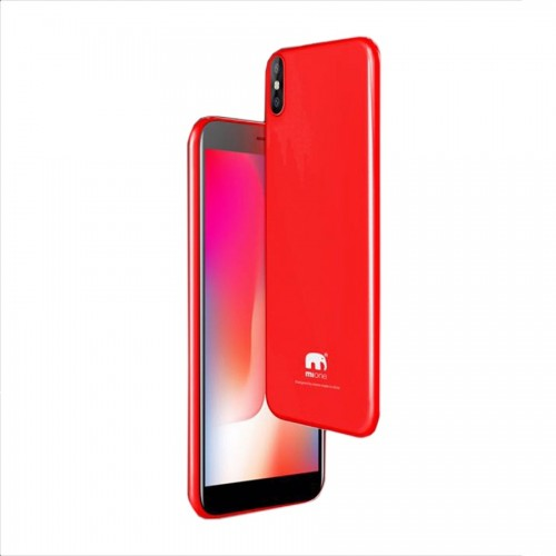 Mione Mix 8, 3GB Ram, 32GB, with Infinity Display, 4G LTE, [Red]