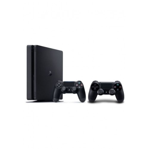 Sony PlayStation 4, Slim 1TB, with 2 Extra Controllers [Black]
