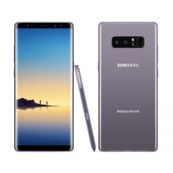 Samsung Galaxy Note 8 - 4G - 64GB -Single sim - Orchid Grey