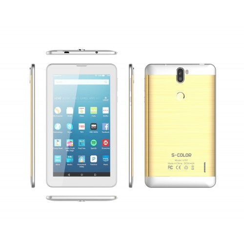 S-Color U707, Dual SIM, 2GB, 16GB, 4G Android 7.0 [Gold]