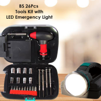 26 Pieces All In One Tool kit With Led Light