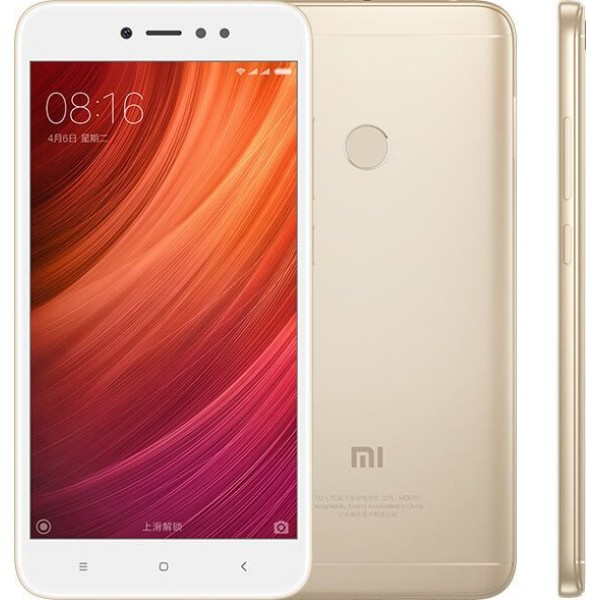 Xiaomi Redmi 5A Dual Sim, 32GB, 3GB RAM, 4G LTE, Gold - International Version