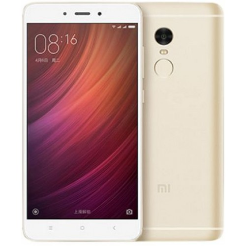 Xiaomi Redmi Note 4 Dual SIM - 32GB, 3GB RAM, 4G LTE, Gold - International Version