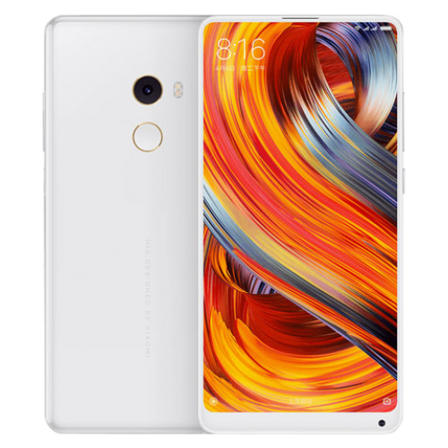Xiaomi Mi Mix 2 Dual SIM - 8GB RAM, 128GB, 4G LTE, Ceramic White - International Version