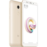 Xiaomi Redmi 5 Plus Dual SIM - 4GB RAM, 64GB, 4G LTE, Gold - International Version