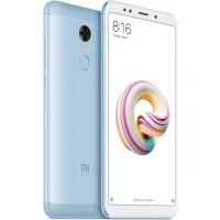 Xiaomi Redmi 5 Plus Dual SIM - 4GB RAM, 64GB, 4G LTE, Blue - International Version