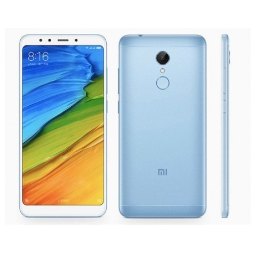 Xiaomi Redmi 5 Dual SIM - 3GB RAM, 32GB, 4G LTE, Blue - International Version