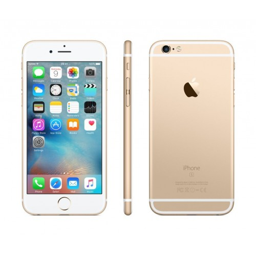 Apple iPhone 6S, 128GB, 4G LTE, with FaceTime [Gold]