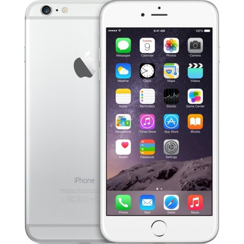 Apple iPhone 6, 64GB, 4G LTE with FaceTime [Silver]