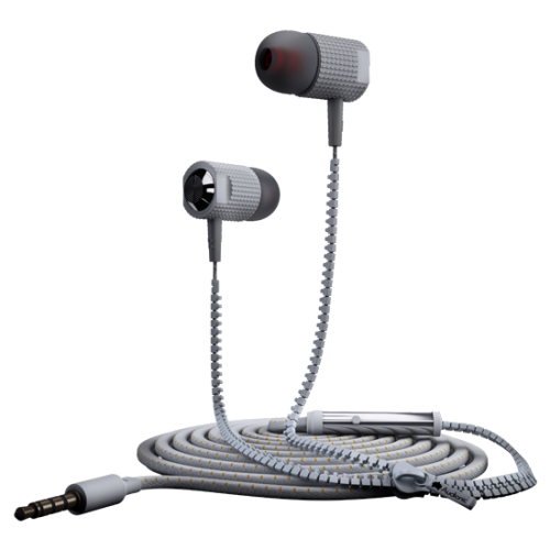 Audionic Zipper Earbuds Earphones - ZE-15