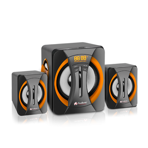 Audionic BOLT-55 AC Power 2.1 Channel Speakers