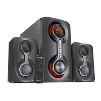Audionic Vision-20 2.1 Channel Speaker with Bluetooth