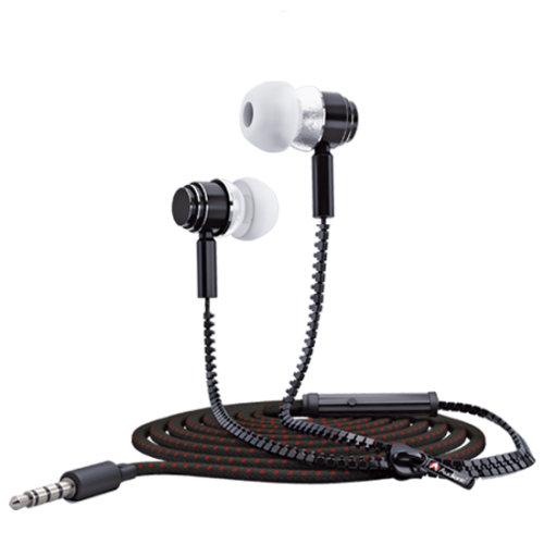 Audionic Zipper Earbuds Earphones - ZE-10