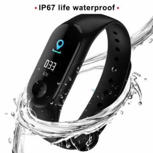 M4 Smart Band Bluetooth Intelligent Bracelet Fitness Tracker for Android iOS