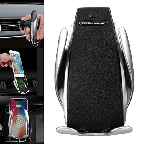 S5 Wireless Automatic Sensor Car Phone Holder And Charger