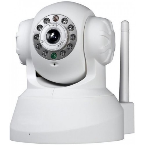 [CCTV Wireless Wifi 720P HD H.264 P2P 1MP IP Network Home IR Security Camera P/T]