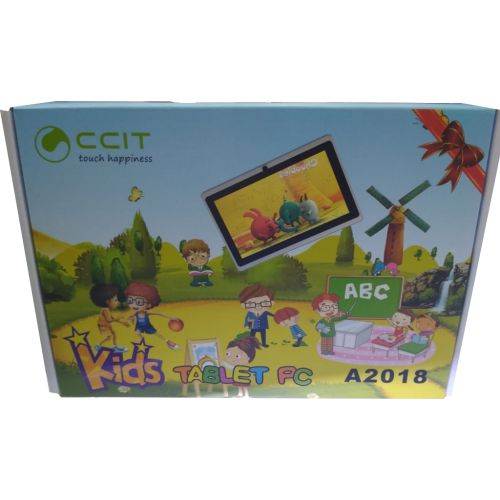 CCIT Kids Educational Tablet, 1GB RAM, 8GB Storage - A2018