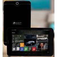 CCIT T5 Tablet - 32GB Storage,3GB RAM,Dual Sim,8 Inch,Dual Camera,4G Black