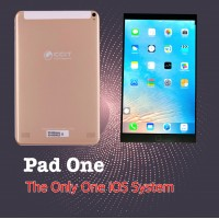 "CCIT Pad One, 3GB RAM, 32GB Storage, Dual Sim, 10.1"" Inch [Gold]"