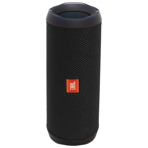 JBL Flip 4 Waterproof Bluetooth Wireless Speaker - Black