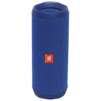 JBL Flip 4 Waterproof Bluetooth Wireless Speaker - Blue