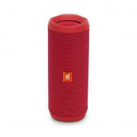 JBL Flip 4 Waterproof Bluetooth Wireless Speaker - Red