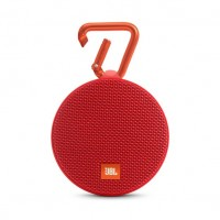 JBL Clip 2 Waterproof Portable Speaker - Red