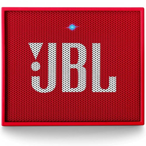 JBL GO Portable Wireless Bluetooth Speaker - Red