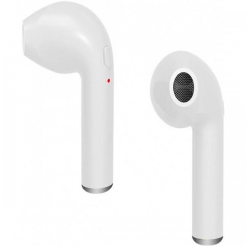 Wireless Music Earphone i7 V4.1 EDR Hands Free Calls Stereo [White]