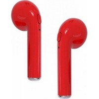 Wireless Music Earphone i7 V4.1 EDR Hands Free Calls Stereo [Red]