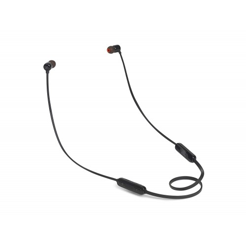 JBL T110BT Pure Bass Wireless in-Ear Headphones with Mic [Black]