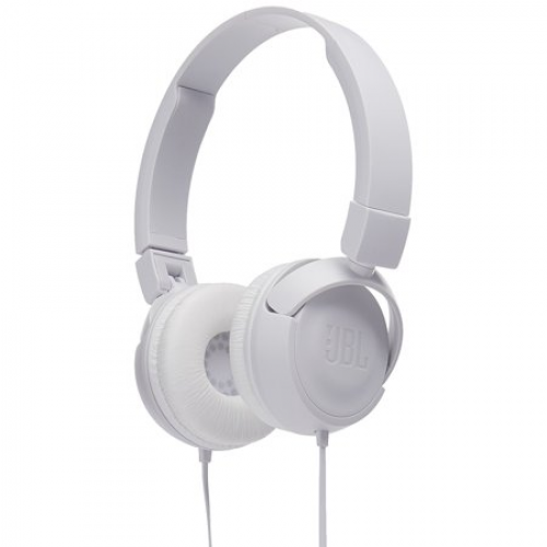 JBL T450 On-Ear Headphones with Mic [White]