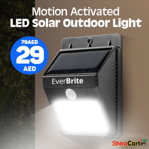 Ever Brite Motion Activated Solar Power LED Light