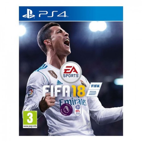 PS4 FIFA 18 - English - Region 2