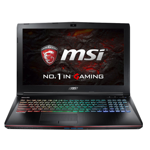 "MSI GE62VR 7RF Apache Pro 4K 15.6"" UHD 4K / Intel Core i7 / 16GB RAM / 1TB HDD + 256GB SSD / Windows 10"