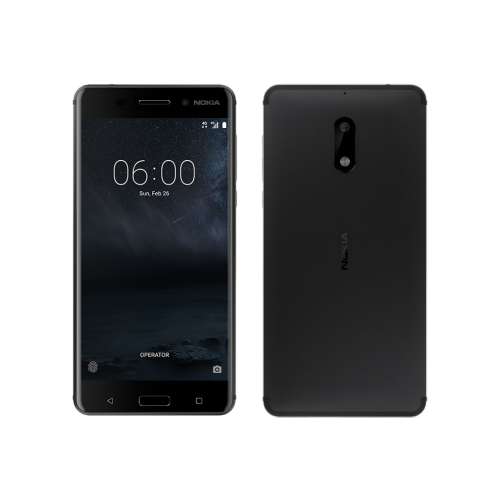 Nokia 6,  3GB, 32GB, 4G LTE, Single Sim, Matte Black