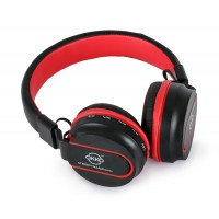 OKKO Wireless HIFI Stereo Headphone, AZ-01 [Black & Red]