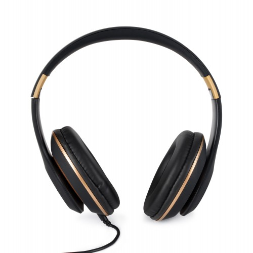 OKKO Wireless HIFI Stereo Headphone, AZ-07 [Black & Gold]