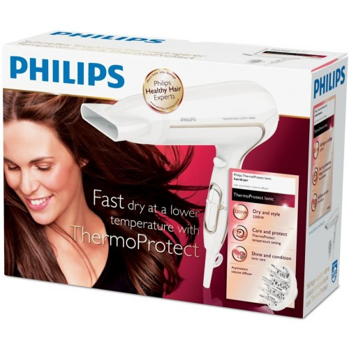HP8232  Philips Hair Dryer 2200 Watt Ionic Care with diffuser