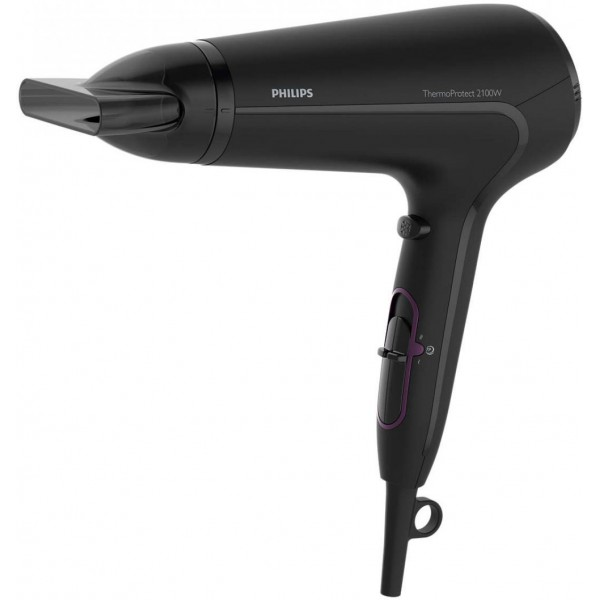 [Philips HP8230 Thermo Protect Hair Dryer 2100 watt with Cool Shot , High Gloss & Mat Black]