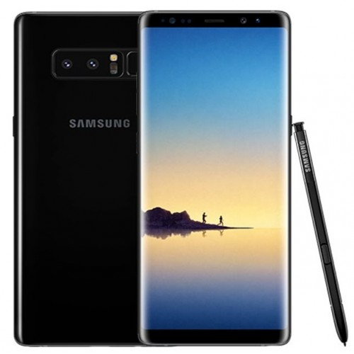 Samsung Galaxy Note 8 - 4G - 64GB -Single sim - Midnight Black