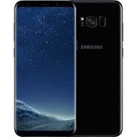 Samsung Galaxy S8 Plus, 64GB, Dual Sim, 4G, G955f - [Midnight Black]