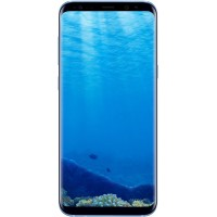Samsung Galaxy S8 Plus, 64GB, Dual Sim, 4G, G955f - [Coral Blue]