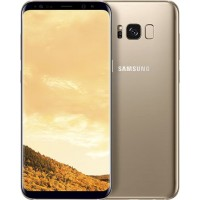 Samsung Galaxy S8 Plus, 64GB, Dual Sim, 4G, G955f - [Maple Gold]