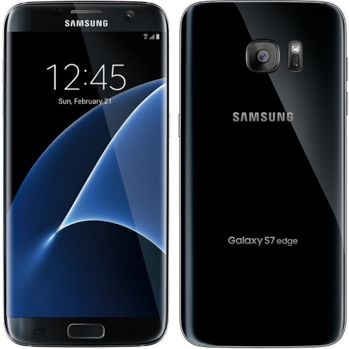 Samsung Galaxy S7 Edge - 4G Dual Sim - 32GB - Black