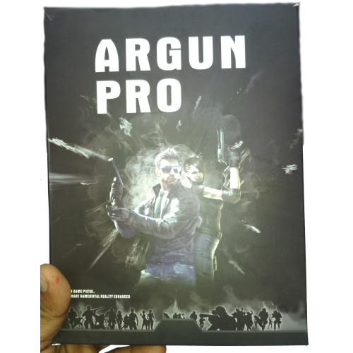 ARGun Pro Game Pistol-[Black]