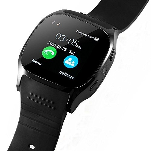 Bluetooth Smart Watch-T8 [Black]