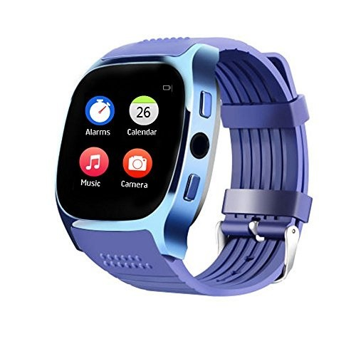 Bluetooth Smart Watch-T8 [Blue]